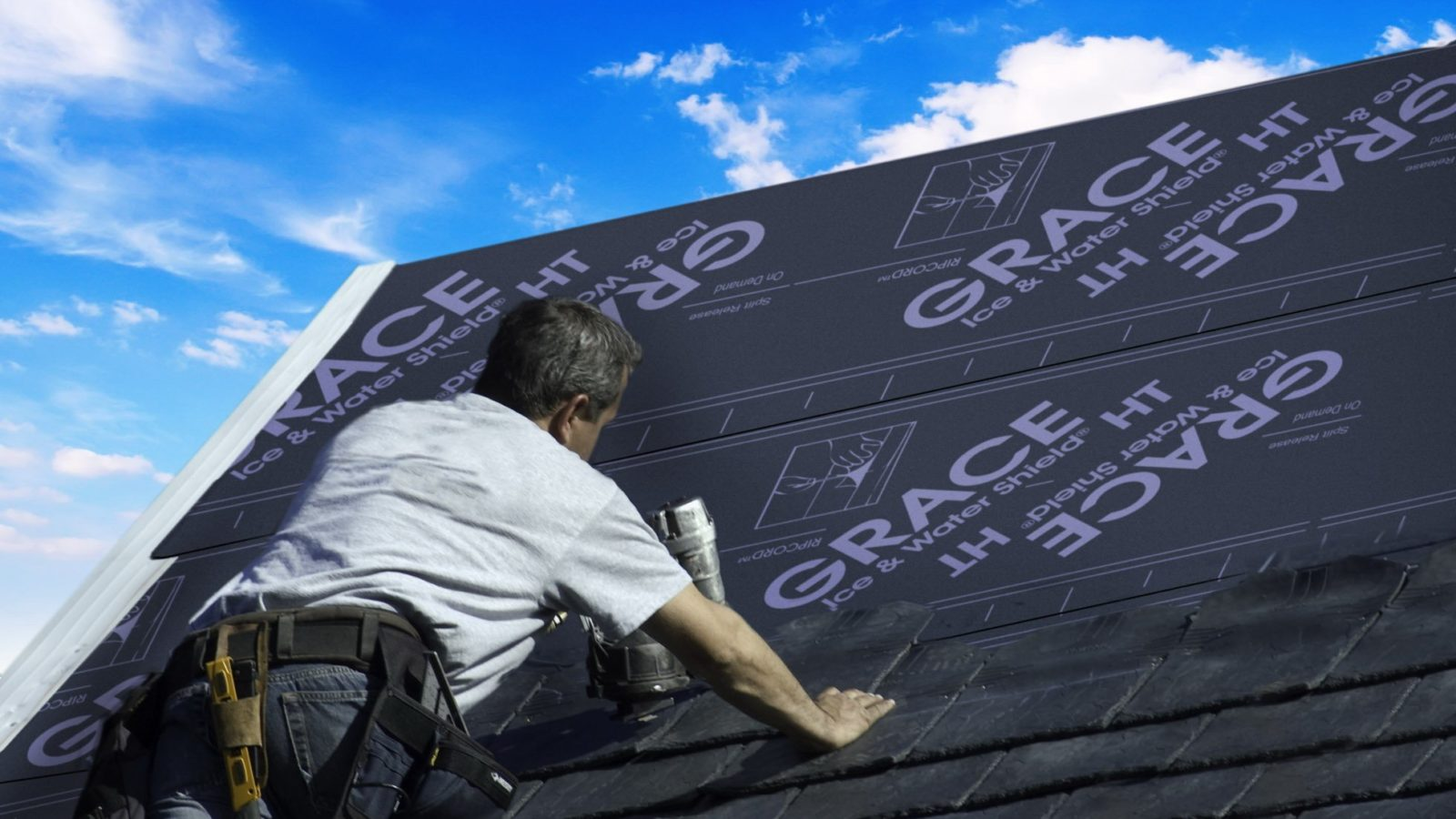 replacing roof or roofer