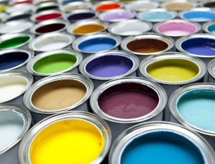 Paint in Cans
