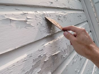 peeling paint, exterior painting