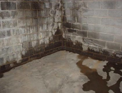 waterproofing basement walls