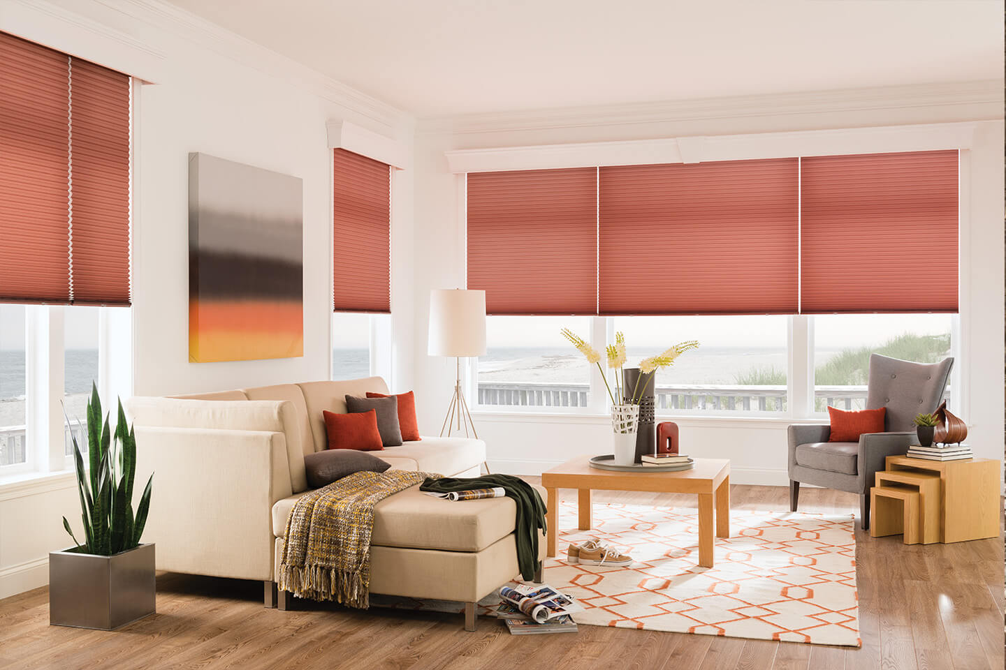 Bali Automated Blinds Powered By Somfy Offer Convenience