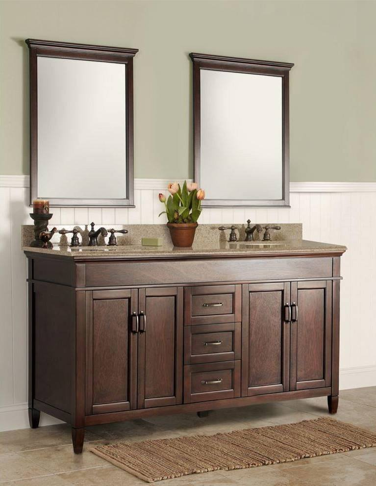 5 double sink vanity. The first thing you must decide is whether to buy a single sink vanity or  double bath Both types are available in wide variety of sizes 5 Chic Bath Vanity Options Money Pit
