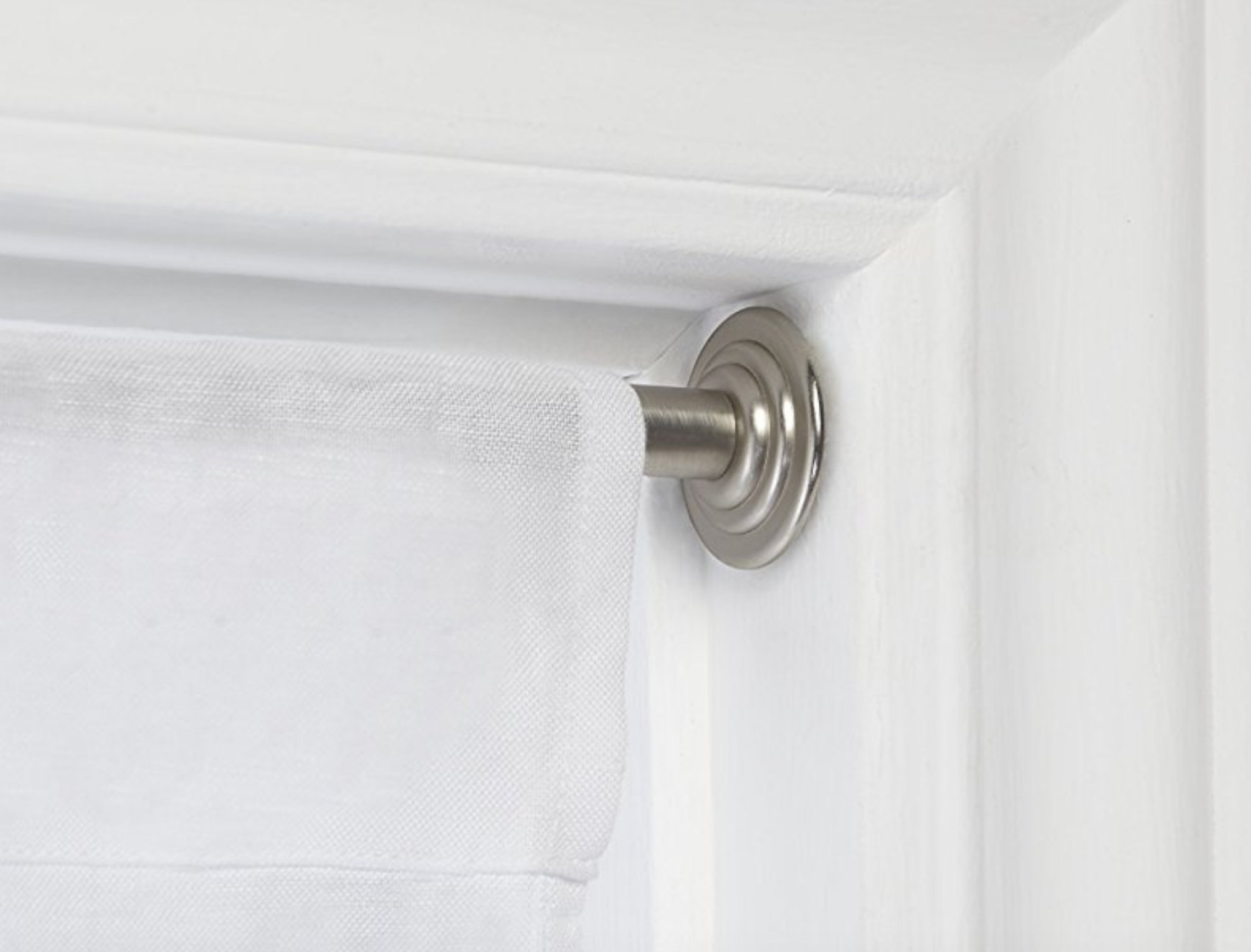 Curtain Rods: Hang Them Without Drilling Holes | The Money Pit