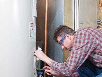clean water heater, new home checklist