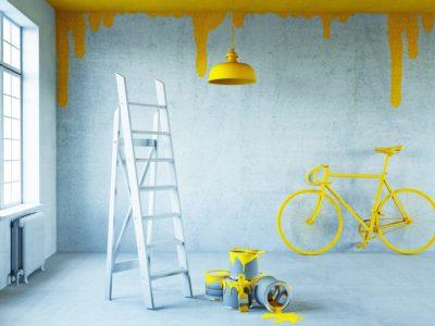 peeling ceiling paint