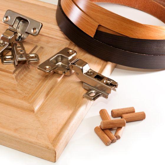 DIY_cabinet_kitchen_install_installing_installation_dowel_adhesive_wood_wooden_shutterstock_154640135