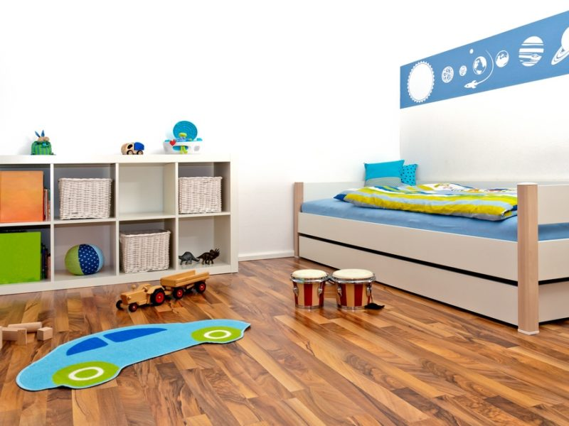 hardwood floor, indoor air quality