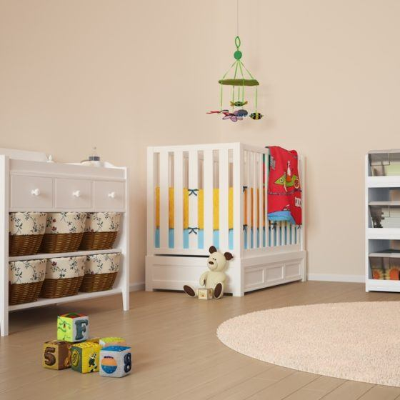 child_bedroom_crib_organization_storage_shutterstock_166837736