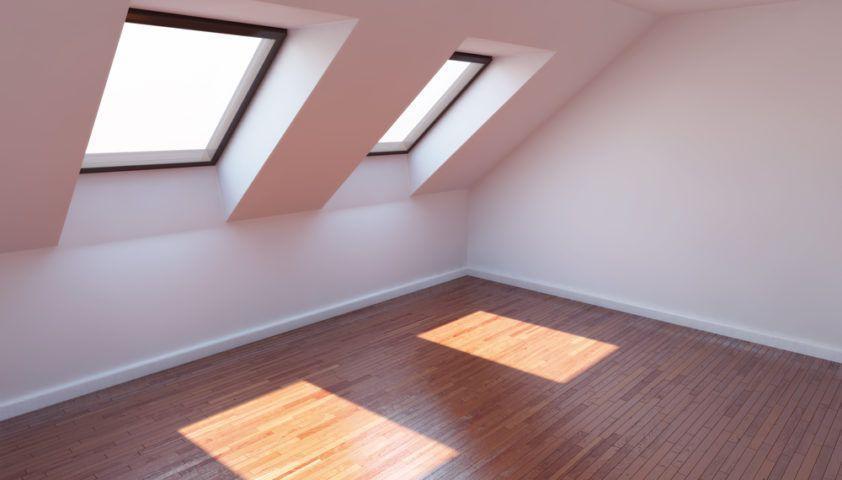 finished_attic_skylight_shutterstock_81722527