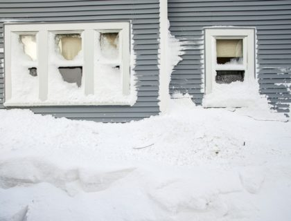 Heavy Snow on House