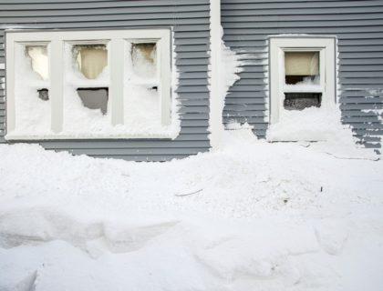 Heavy Snow on House