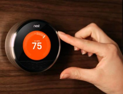 Nest Thermostat for Heating