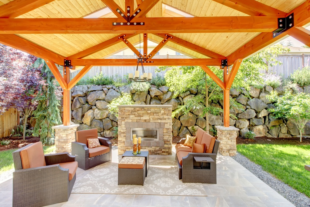 Have Patio Ideas On The Brain? Building An U201coutdoor Roomu201d Is A Way To Extend  Your Indoor Living Space, Create A Place For Outdoor Entertaining, Relaxing  And ...