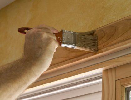 stain_paintbrush_door_window_frame__shutterstock_114235396
