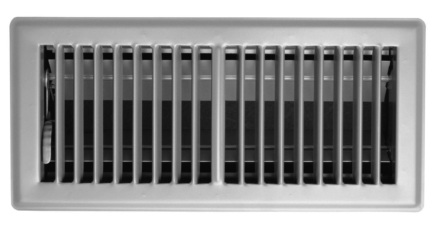 vents in unused rooms