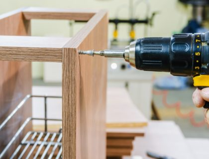 Assembling of furniture power tools