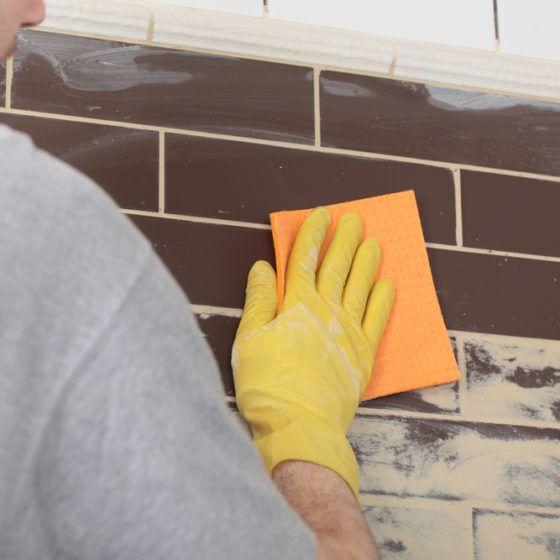 DIY Tile Backsplash
