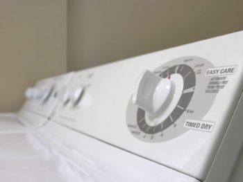 washer & dryer shaking