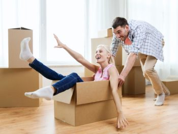 first apartment, hire moving company