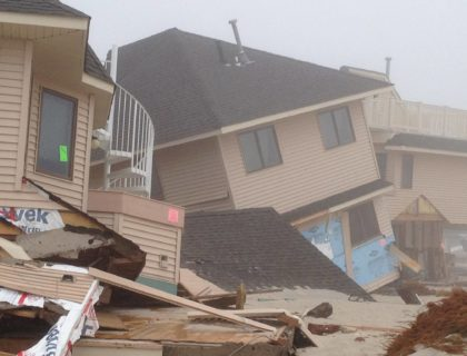 hurricane sandy beachfront