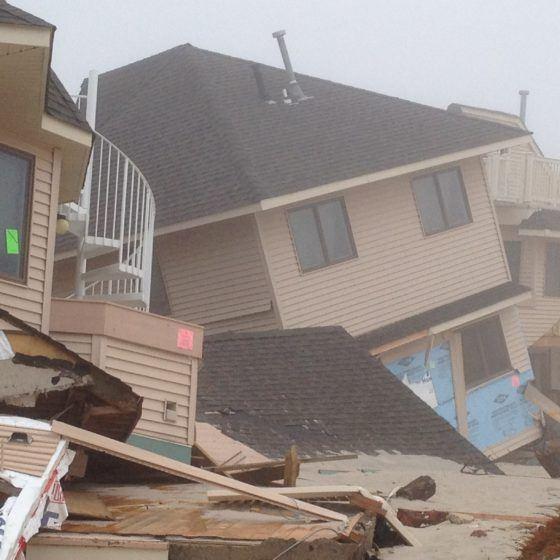 hurricane sandy beachfront