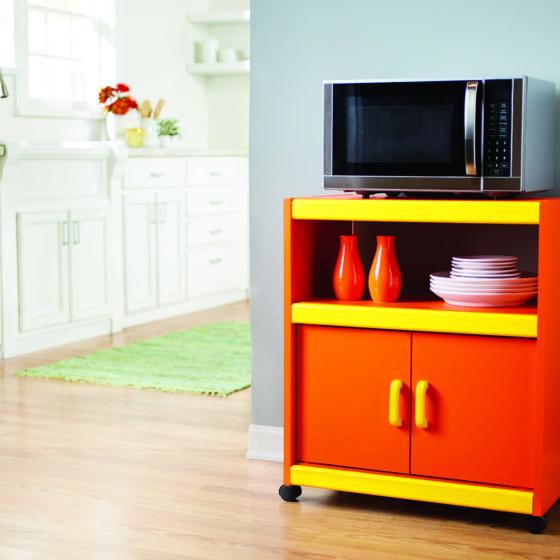 Krylon Dual Superbond – Microwave Cart