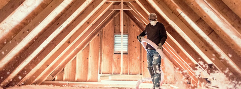 insulate finished attic