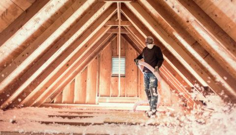 insulate finished attic