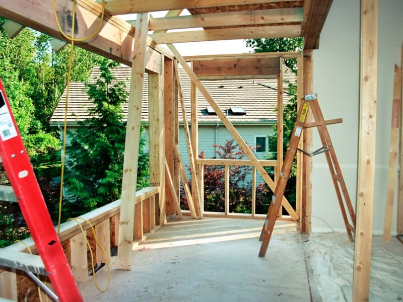 Remodeling a front porch