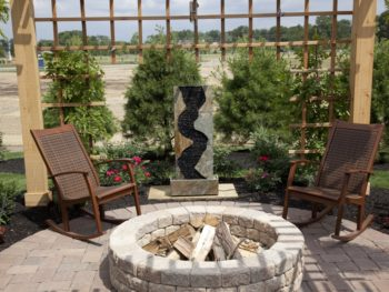 mortar for outdoor stone fire pits