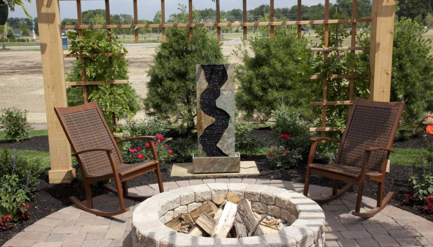 backyard_outdoors_outdoor_living_firepit_fire_pit_stone_stones_shutterstock_44574568