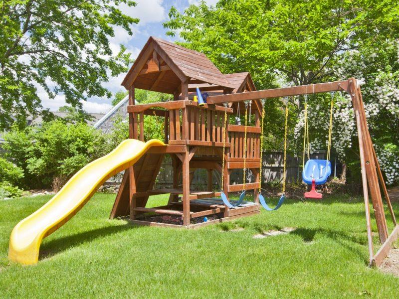 outdoor, swings, children, playground design, safety