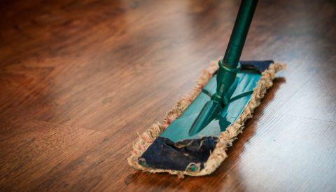 floor, cleaning, dust