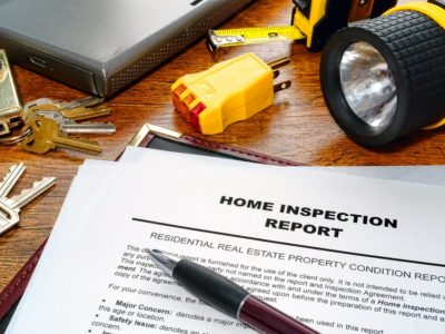inspection report, home seller, home buyer