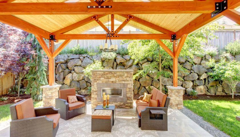 outdoor_living_outdoor_entertaining_outdoor_room_patio_furniture_outdoor_fireplace_pergola_roof_shutterstock_127323815