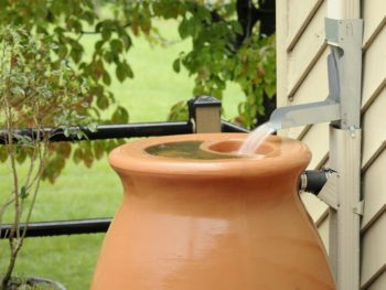 Rainbarrel and spout