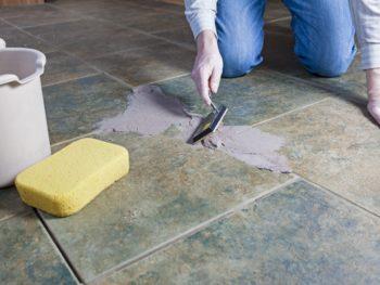 Repair Floor Tile, Install Floor Tile