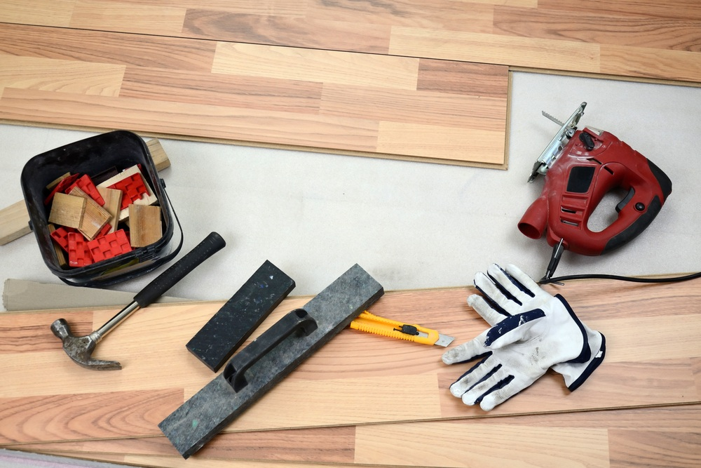 Getting building permits for remodeling projects the for Wood floor installation tools