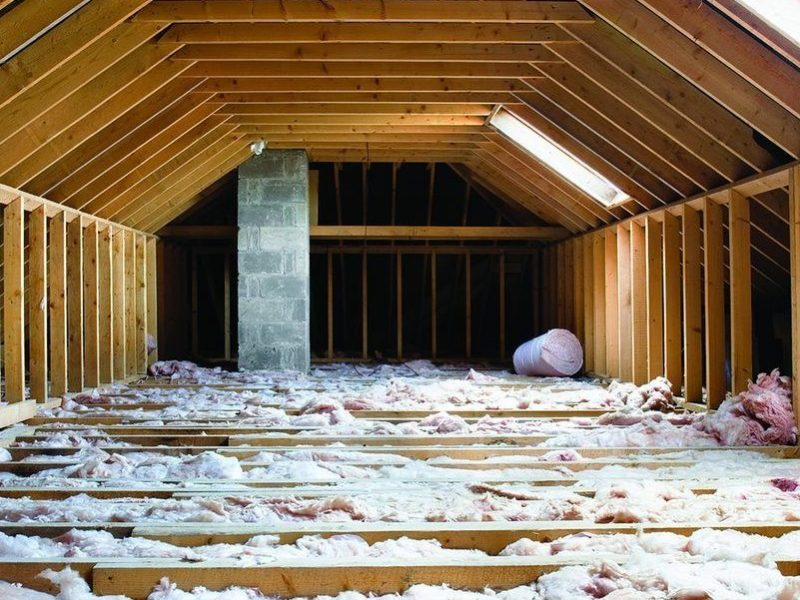 insulation when building new house