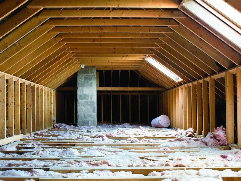 Adding New Attic Insulation And Floors The Money Pit