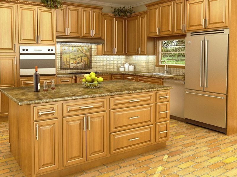 remove varnish from kitchen cabinets