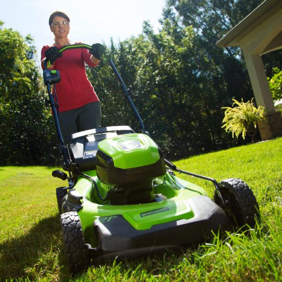 Greenworks Pro 60V Mower Makes Cutting the Lawn Hassle-Free