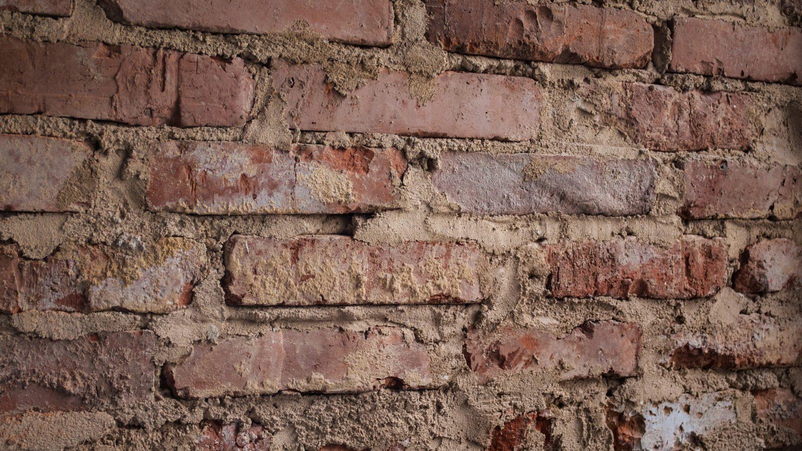 brick crack