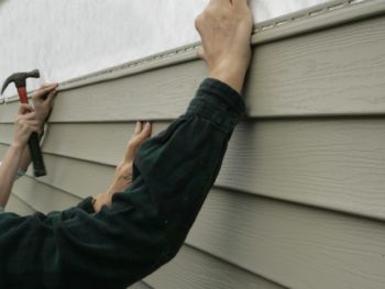 cracks in composite siding