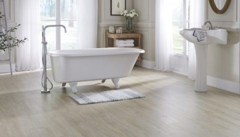 EVP, floor, bathroom, laminate
