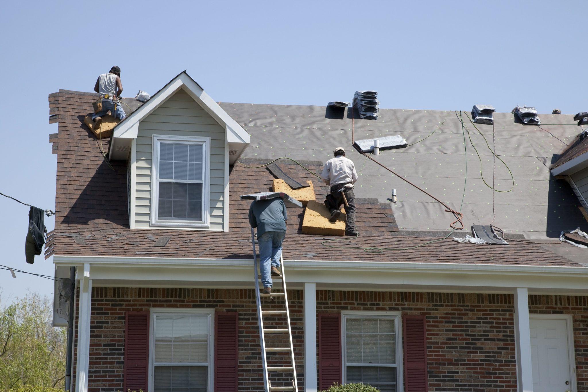 roof, installing, asphalt shingles