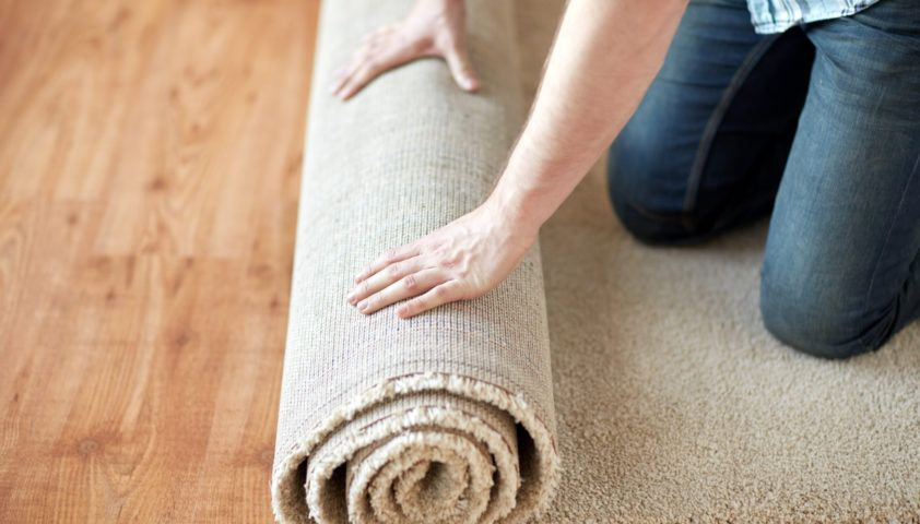Rolling Carpet DIY