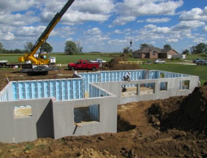 superior insulated concrete forms