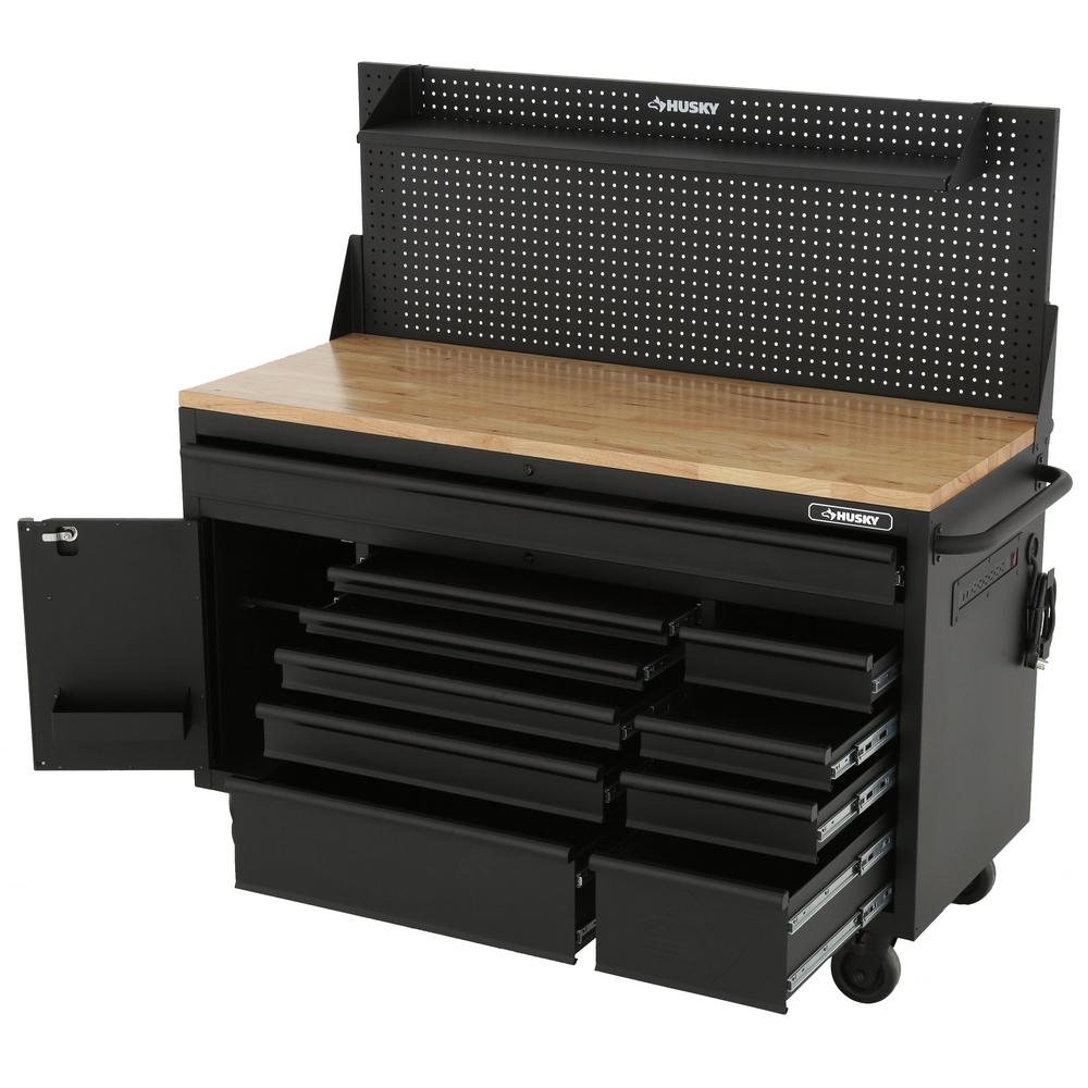 Husky 60 Mobile Workbench Delivers Big On Storage And