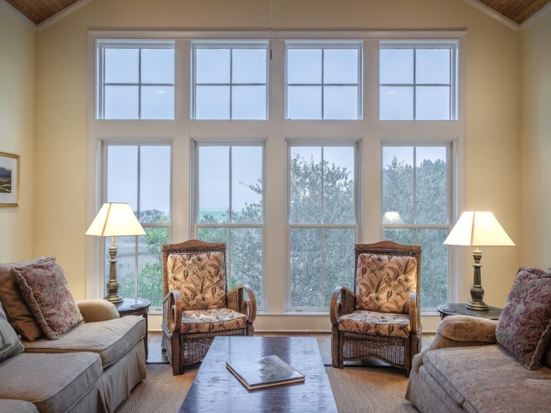 replacing windows with an old frame